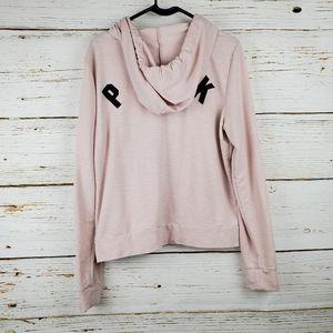 PINK Victoria's Secret Jackets & Coats - PINK Victoria's Secret Knit Zip Front Jacket